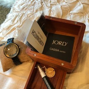 JORD Wooden Watch (Casia Series)
